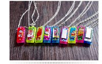 Wholesale The hole harmonica harmonica Necklace tone small harmonica student children gift Pendant