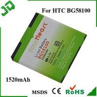 htc evo - BG58100 mAh Four Heart FourHeart Battery For HTC Z710E T Mobile myTouch G Slide Pyramid G14 EVO D Sprint Cell Phone Retail Packing