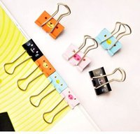Wholesale 1 PC office accessories paper clips cute Animal long tail clip folder containing files finishing clip Z318