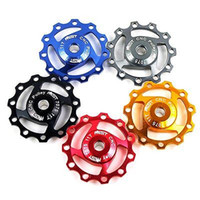 aluminium pulley wheels - Bicycle parts AEST Aluminium Jockey Wheel Rear Derailleur Pulley SHIMANO SRAM T I P