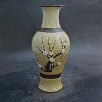 antique vintage porcelain vase - Imitation Brother Ming vase antique enamel heap antique porcelain antique hand Classical vintage ornaments flea favorites