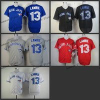 TORONTO BLUE JAYS JERSEYS - toronto blue jays brett lawrie Cheap Wholesales Baseball Jersey Embroidery Name and Logo EME DHL