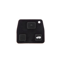 Wholesale 2015 Promotion Real Oem Car Replacement Button Rubber Remote Pad for Toyota Avensis Corolla Lexus Rav4 Key Fob