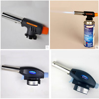 torch soldering - Butane Gas Blow Torch Soldering Weld Gun Iron Lighter Burner Fire Flame Starter