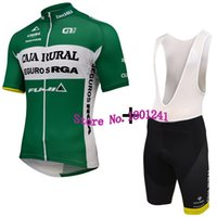 Wholesale NEW cycling jersey caja Rural la lavuelta long sleeve red clothing bicycle bike wear green maillot ropa ciclismo nowgonow