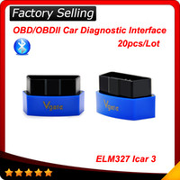 Cheap 2015 New Vgate iCar3 Bluetooth Elm327 Code Reader Support All OBDII Protocols Cars iCar 3 Scan for Android IOS PC 20pcs Lot