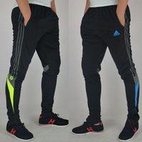 Wholesale new football pants sweat pants jogging pants men s trousers colors L XL