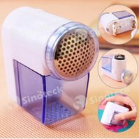 Wholesale Mini Lint Remover Hair Ball Trim Trimmer Sweater Cloth Clothes Shaver Shaving Portable Handheld Electric Lint Cutter Free DHL Factory Direct