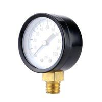 Wholesale 0 psi Mini Dial Vacuum Manometer Piezometer Air Pressure Gauge Meter With Ttable Performance Single Scale