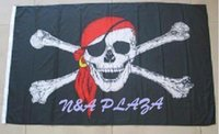 Cheap pirate flag 3x5 ft Free shipping 1 PC for sale