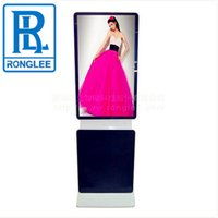 Wholesale Android version touch screen quot Rotable Floor Standing Advertising Player digital signage
