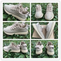 Wholesale Authentic Original Kanye West Boost Oxford Tan AQ2661 Sneakers Men s Running Shoes Kardashian Jenner