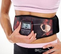 Wholesale 2014 version Ab Belt Electronic Abdominal Fitness belt Gym Fat Burning Work Out Weight Loss Slim DHL