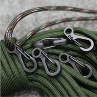 Wholesale Hot Sale Mini SF Spring Backpack Clasps Climbing Carabiners EDC Keychain Camping Bottle Hooks Paracord Tactical Survival Gear