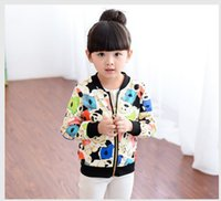 baby fund - In the spring and autumn of new fund of autumn outfit han edition cartoon children baby baseball uniform long sleeved jacket BH1113