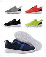Wholesale 2014 New Design Sport shoe High Quality Athletic Shoes Men Sports Shoe Roshe Run HYP QS M Tennis shoes