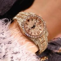 Wholesale 2015 Top Grade Luxury Diamond Crystal Watches Fashion Jewelry Wristwatches Automatic Square Smart Watches RoseGold
