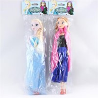 Wholesale 2015 High quality FFrozen doll elsa anna princess hand dolls toys esla anna cm doll children recent gift MOQ