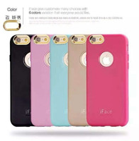 apple seconds - Cell Phone Cases For Apple Phone The New IFace Second Generation lens Iphone6 Cases PC TPU Plating Factory Direct Sale