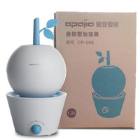 aroma apple - Humidifiers Apple Tree Styling Nebulizer Ultrasonic Humidifier Mute Home Air Sterilization Oxygen Bar Aroma Diffuser Mist Maker