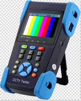 Wholesale 3 quot AHD camera tester CCTV tester monitor HD AHD P analog camera testing PTZ V output