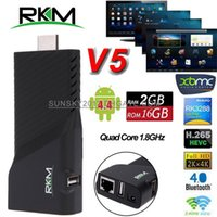 media player v5 - RKM V5 Rockchip RK3288 Android TV Dongle Quad Core G G Smart Mini PC K K H XBMC Bluetooth Box Dual Wifi Goolge IPTV Media Player p