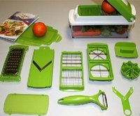 vegetable dicer - 100pcs Lowest Price Nicer Dicer Plus Vegetables Fruits Dicer Food Slicer Cutter Containers Chopper Peelers