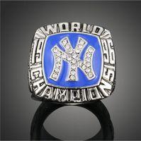 Wholesale baseball championship rings New York Yankees gold championship ring Europe and selling Rings