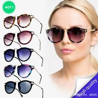 vintage fashion sunglasses - New Fashion Women Men Retro Vintage Shades Fashion Oversized Designer Sunglasses