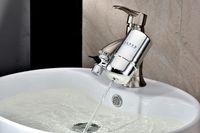 Wholesale Tap water purifier household water purifier filtering ceramic diatom smart fashion kitchen direct drinking tap water filter pre filter