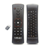 android or ipad - MINIX NEO A2 GHz Wireless Fly Air Mouse QWERTY Keyboard with Microphone Speaker Skype Remote Control for Android TV Box Laptop Tablet PC