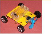 assembling components - Children s Wind Power Car Model Educational Assemble Toys DIY For Kids