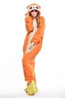 adult monkey suit - Classy Monkey Kigurumi Pajamas Animal Suits Cosplay Outfit Halloween Costume Adult Garment Cartoon Jumpsuits Unisex Animal Sleepwear