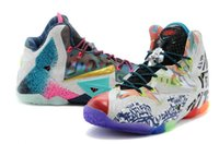 Wholesale New Fashion Sports Shoes Lebron XI What the Lebron Basketball Shoes Sneakers Elite P S Playoffs Athletic Shoes