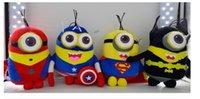 Historieta Despreciable yo juguete de la felpa juguete de la felpa de la pequeña gente amarilla de la edición pequeña de los vengadores del super héroe El envío libre