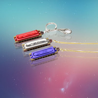 Wholesale Jinbei brand Mini Necklace harmonica manufacturers direct sound