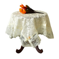 Wholesale Stylish cm High quality Multi Cover lace Towels Home Textile Table Cloth Dining Room Home Wedding Decor