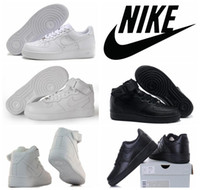 silk stretch satin - Nike Air Force Men Women Sports Skateboarding Shoes Cheap White Nike Air Force one Shoes size Original quality
