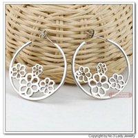 Cheap Earrings Hoop Earrings Fashion Stainless Steel Earrings,Wholesale&Free shipping, WE122 earrings blue earring white earrings elephant