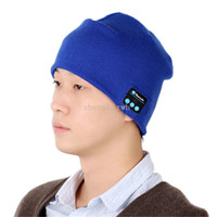 active speakers white - best price Soft Warm Beanie Bluetooth Music Hat Cap with Stereo Headphone Headset Speaker Wireless Mic Hands free for Men Women Gift V887