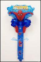 inflatable cartoon - Hot sell a spiderman cartoon design bangbang cheer stick balloon inflatable figures