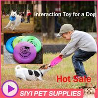 Wholesale Pet Interaction Toys Dog Frisbee Dog Training Frisbee Toys Dog Reaction Educational Toy Eco friendly PVC Safe and Long Lasting