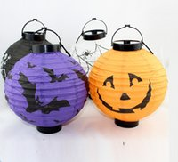 halloween decorations pumpkin - Halloween decorations LED Pumpkins lantern jack skeletons spiders bats haunted house bar party props supplies gift for Kids free