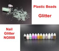 Wholesale Nails Art Plastic Beads Acryclic Glitter For Nail Art Tips for Nails Accessories NG008