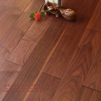 Wholesale Dark Black walnut The floor wood floor solid wood floor Wood ants Black walnut Home Furnishing decoration
