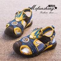 animated sandals - children s shoes sandals New boy baotou sandals ZhongTong animated cartoon sandals one full year of life