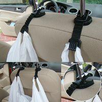 auto interior shops - Plastic Auto Car Truck Shopping Bag Holder Seat Hook Hanger Organizer Car sundries mount interior multi purpose trunk hook A3