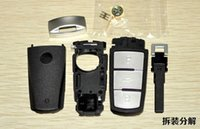 Wholesale NEW Replacement Shell Smart Remote Key Case Fob for VW VOLKSWAGEN CC Passat Magotan Button