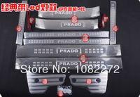 Wholesale 14pcs Whole Set LED Illuminated Door Sill Sills Scuff Plate Trim For Toyota Prado Fj150