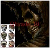 Wholesale Fashion CS Ski Sport mask Bike Motorcycle Scarves Face Ghost mask Skull Multi Bandana Mask intball LJJH1045